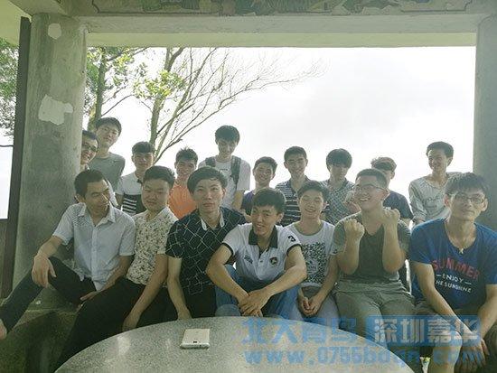 北大青鸟深圳嘉华T122班一起爬南山