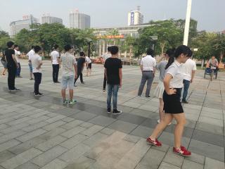 9月2号北大青鸟东莞金码晨练感言