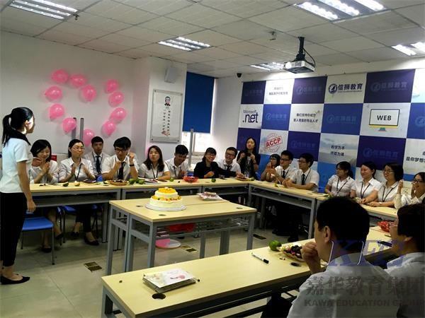 深圳IT技术培训机构信狮教育的老师有什么不一样