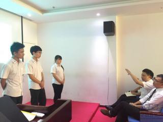 东莞北大青鸟软件开发专业T120班项目答辩