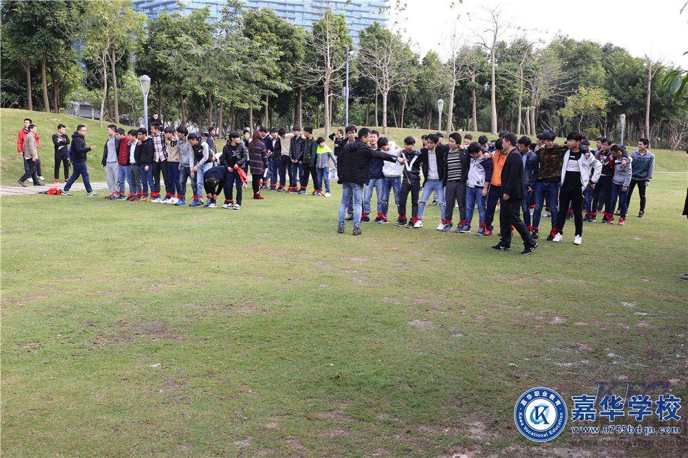 12月网络工程学员红树林拓展活动