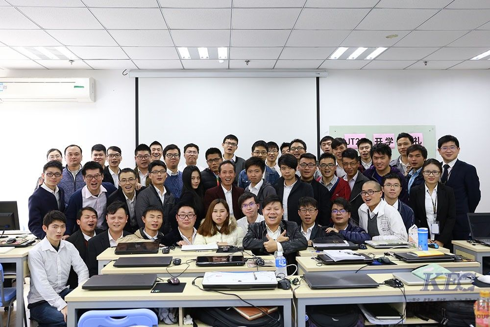 北大青鸟信狮教育学士后Java工程师T23班开学