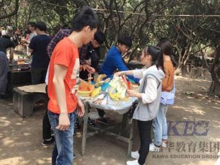 北大青鸟深圳嘉华学校T154班游凤凰山