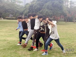 深圳嘉华学校T157班户外拓展带你感受团队力量