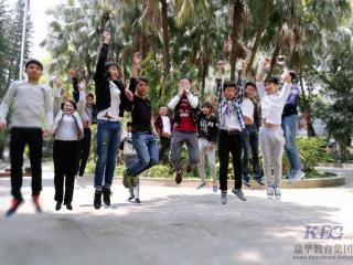 北大青鸟广州新嘉华软件开发专业T39班春游拓展