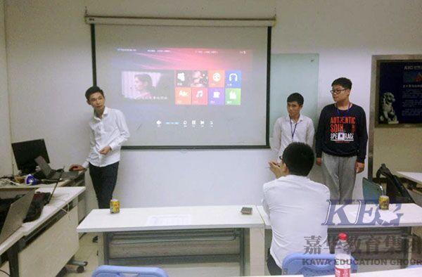 深圳嘉华学校软件开发专业T153班项目答辩圆满结束
