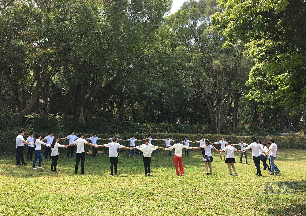 深圳嘉华学校T158班学员户外团队素质拓展