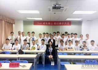 北大青鸟信狮教育Java工程师专业JT25开学典礼
