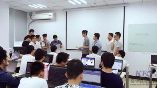 信狮教育JT24班举行网站标签知识竞赛