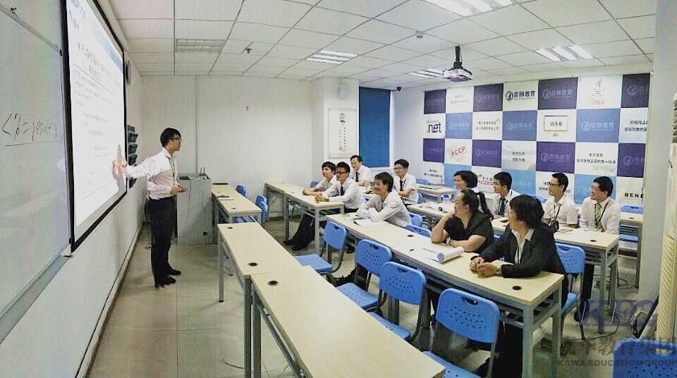 """北大青鸟信狮校区""""赛课""""教学质量评比交流会"""