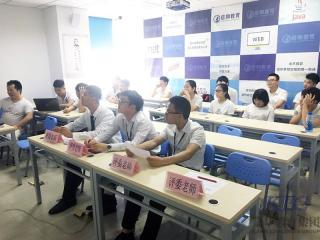 信狮教育2T128班举行项目答辩检验S2学期学习效果