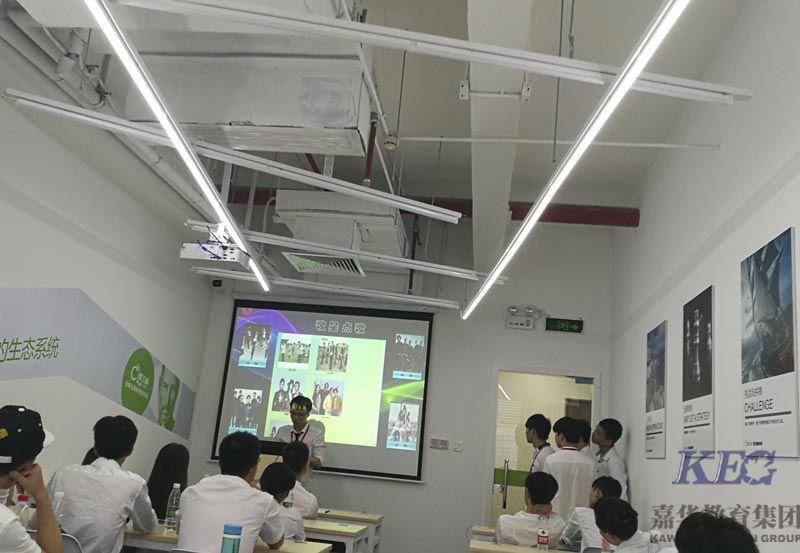 广州新嘉华T43班举行KTV项目答辩赛圆满结束