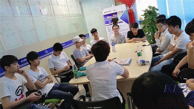 广州新嘉华S2T39T40兄弟班参观嘉华校区-师生交流