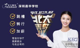 新时代北大青鸟深圳嘉华学校为IT职业教育打call
