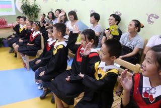 少儿英语培训机构深圳优瑞英语学员学习效果展示