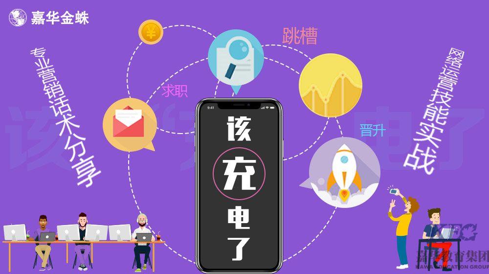 嘉华金蛛电子商务营销师