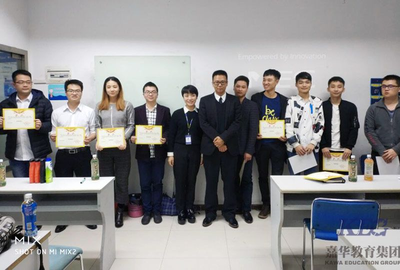北大青鸟深圳嘉华学校JT58班毕业项目答辩顺利举行