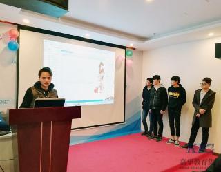 东莞北大青鸟软件开发专业131班项目答辩完成