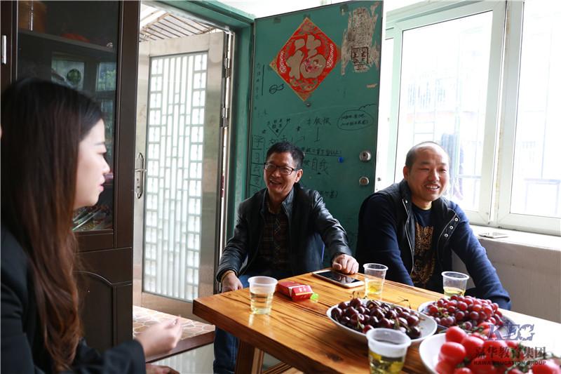 北大青鸟深圳嘉华学校罗湖区家访图