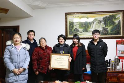 深圳嘉华学校2018周边城市学员过年家访图
