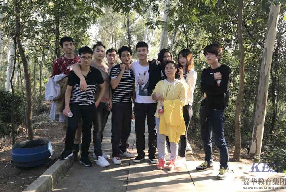 北大青鸟金码学校软件工程班T134踏春记