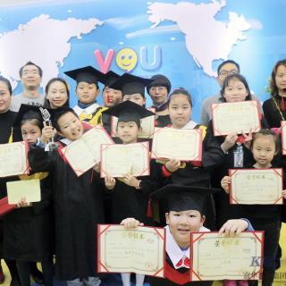 我的孩子在优瑞英语学习的经历