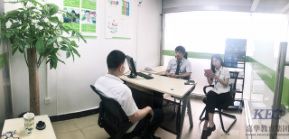 职场预热,深圳信狮学校WT14班模拟面试顺利举行