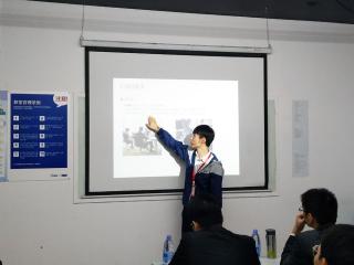 北大青鸟深圳嘉华学校网络工程专业BT139班举行项目答辩
